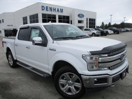 2018 Ford F-150 Lariat Crewcab 4x4 w/ Chrome Appearance Package