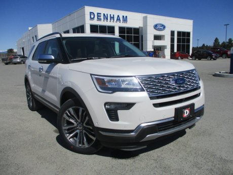 2018 Ford Explorer Platinum 4WD w/ Safe and Smart Package!