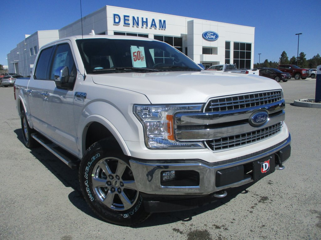 2018 ford f 150 lariat crewcab 4x4 w chrome package dt8448