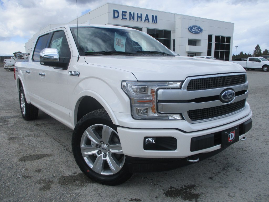 2018 ford f 150 platinum crewcab 4x4 w twin panel moonroof dt8467