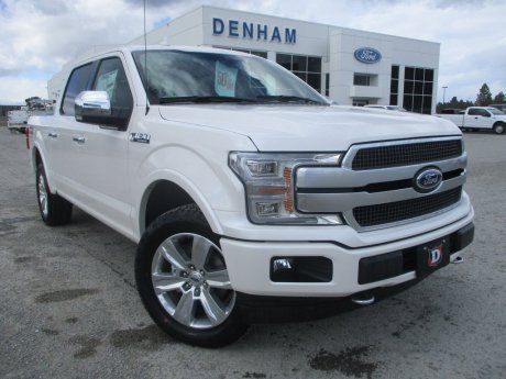2018 Ford F-150 Platinum Crewcab 4x4 w/ Twin Panel Moonroof!