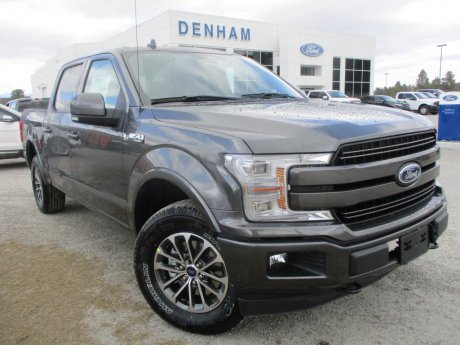 2018 Ford F-150 Lariat Crewcab 4x4 w/ Power Deployed Boards!