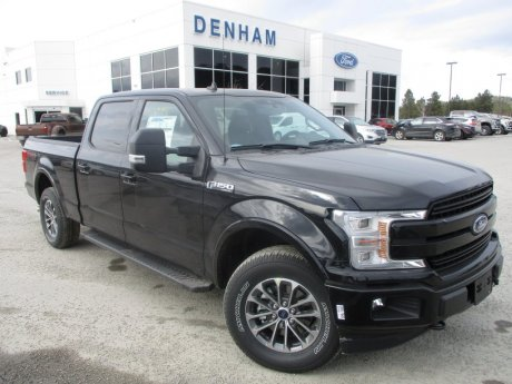 2018 Ford F-150 Lariat Crewcab 4x4 w/ Sport Package!
