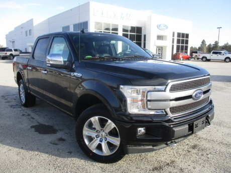2018 Ford F-150 Platinum Crewcab 4x4 w/ Technology Package!
