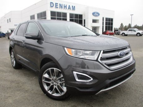 2018 Ford Edge Titanium AWD w/ Canadian Touring Package!