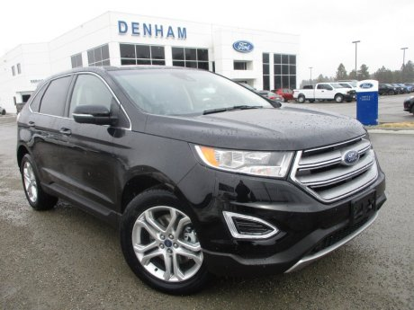 2018 Ford Edge Titanium AWD w/ Safe and Smart Package!