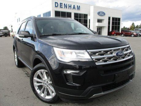 2018 Ford Explorer XLT 4WD w/ Twin Panel Moonroof!