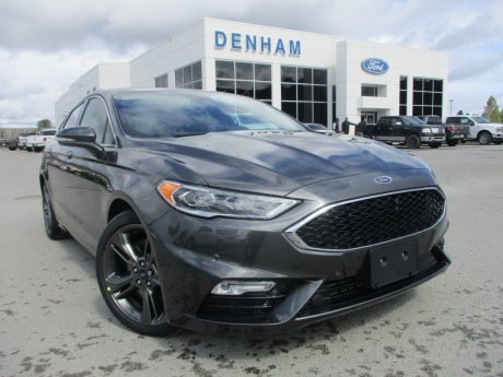 2018 Ford Fusion Sport AWD w/ Leather Interior!