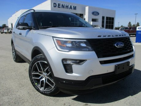 2018 Ford Explorer Sport 4WD w/ Moonroof!