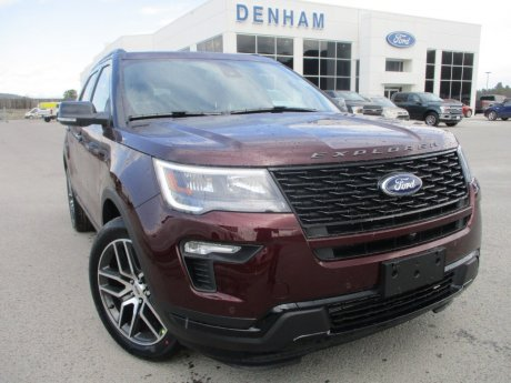 2018 Ford Explorer Sport 4WD w/ Twin Panel Moonroof!