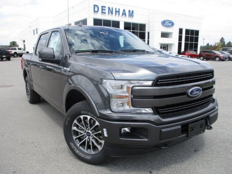 2018 Ford F-150 Lariat Crewcab 4x4 w/ Twin Panel Moonroof!