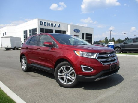 2017 Ford Edge Titanium AWD w/ Canadian Touring Package