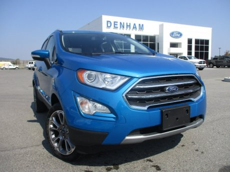 2018 Ford EcoSport Titanium AWD w/ Remote Start