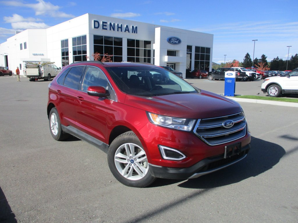 2018 ford edge sel awd w cold weather utility pkg p2436 main
