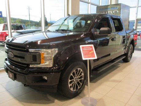 2018 Ford F-150 XLT w/ Katzkin Leather & Kootenay PK