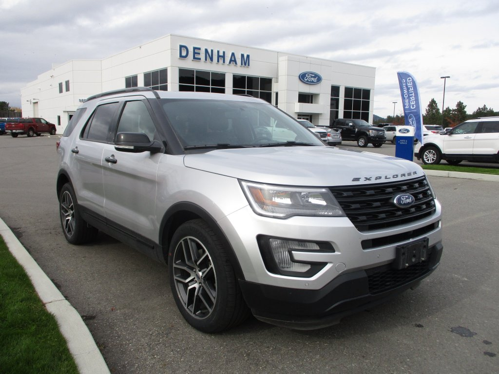 2017 Ford Explorer Sport 4X4 w/ Moonroof & Captains Chairs (P2456) Main Image