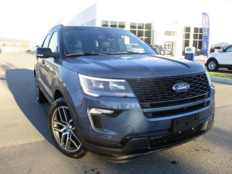 2019 Ford Explorer Sport 4WD w/ Twin Panel Moonroof