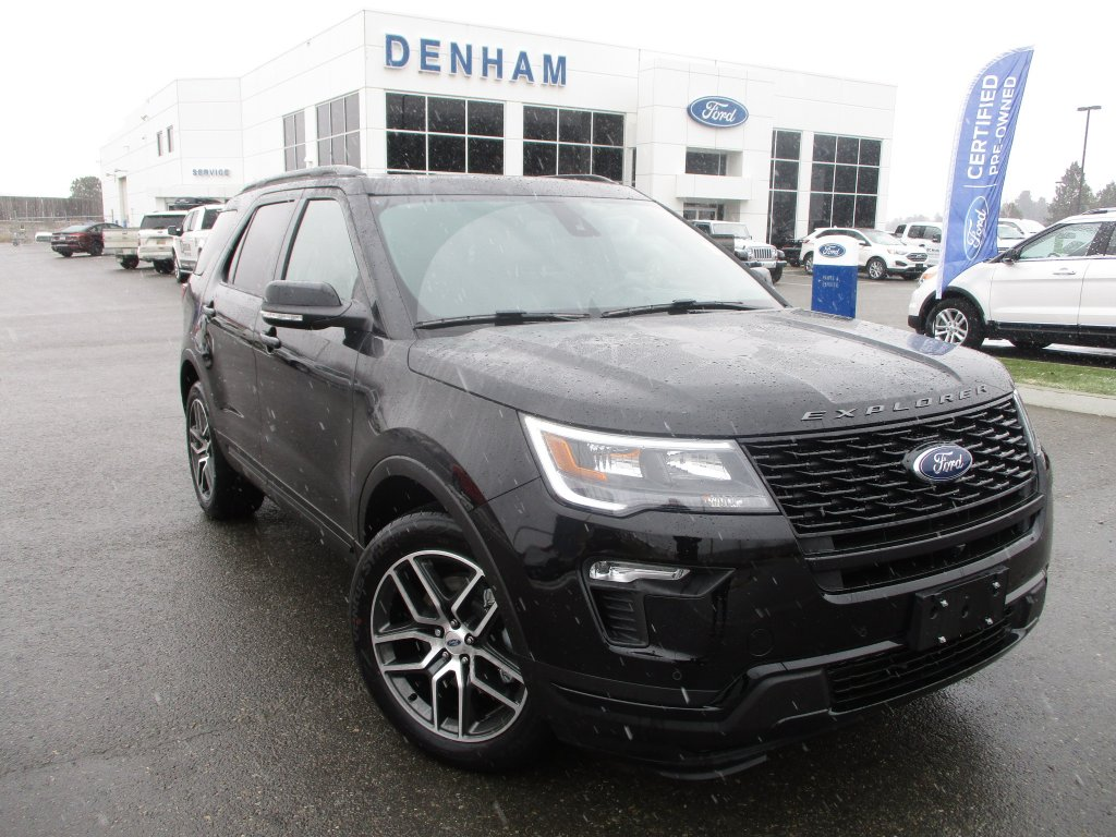 2019 Ford Explorer Sport 4WD w/ Twin Panel Moonroof (DT9214) Main Image