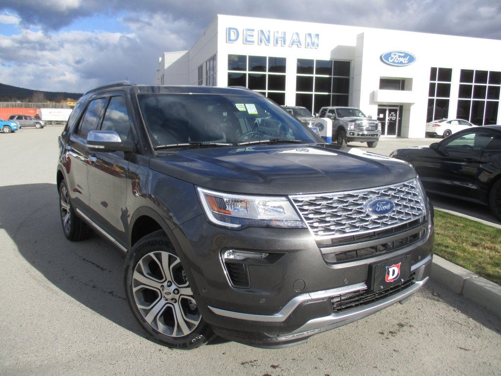 2019 Ford Explorer Platinum 4WD (DT9235) Main Image