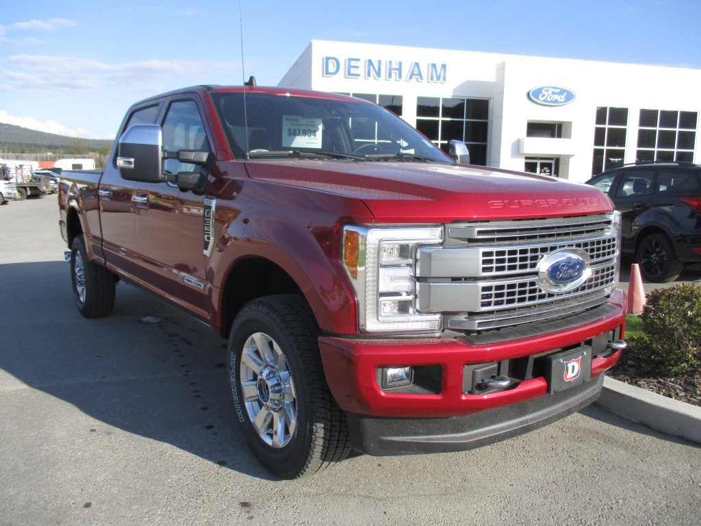 2019 Ford Super Duty F-350 SRW Platinum 4X4 (DT9429) Main Image