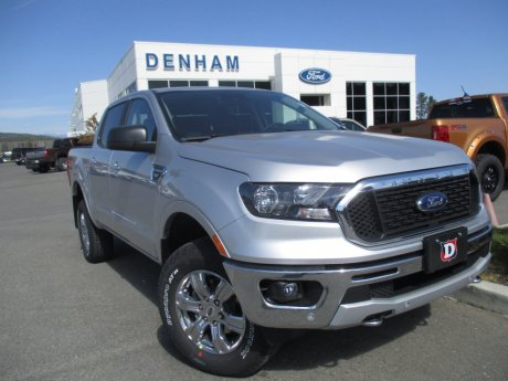 2019 Ford Ranger XLT Crewcab 4x4 w/ Chrome Package