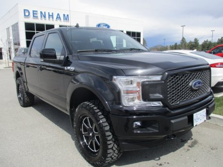 2020 Ford F-150 Lariat Supercrew 4x4 w/ Fox Level Kit, Tires/Rims, 3M