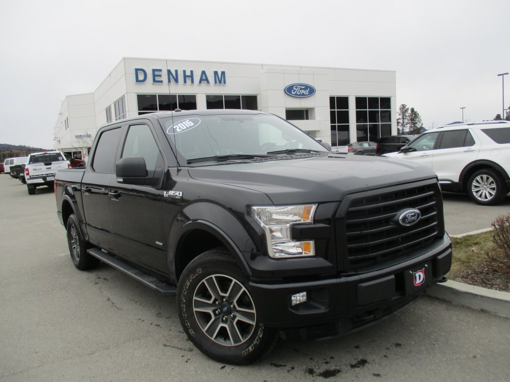 2016 Ford F-150 XLT Supercrew 4x4 w/ Sport Package! (302A) (T9662A) Main Image