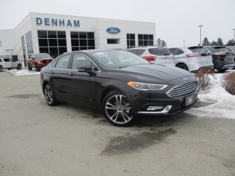 2018 Ford Fusion Titanium AWD w/ Heated/Cooled Seats & Navigation!