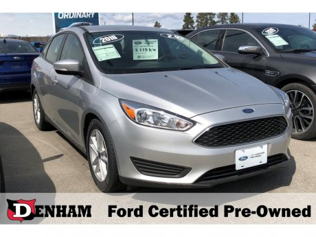 2018 Ford Focus SE Sedan w/ Winter Package!