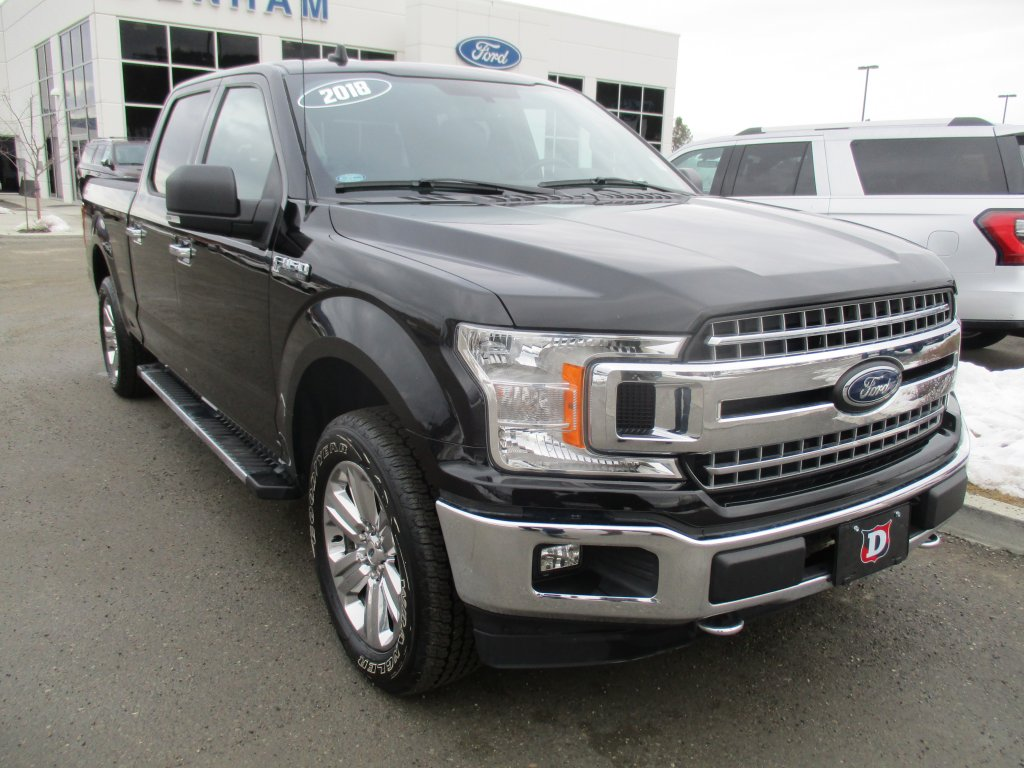 2018 Ford F-150 XLT 4X4 SuperCrew w/ Navigation! (302A) (T9583A) Main Image