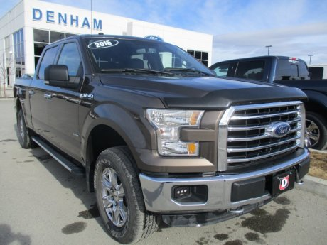 2016 Ford F-150 XLT SuperCrew 4X4 w/ Max Trailer Tow Package (302A)