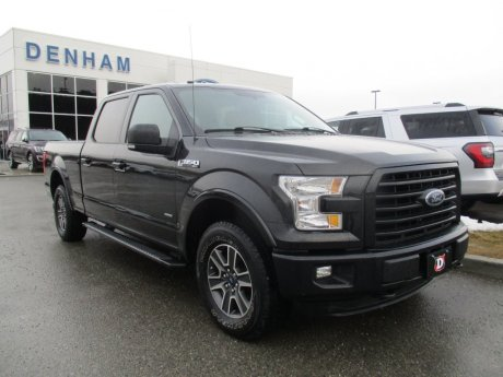 2016 Ford F-150 XLT SuperCrew 4X4 w/ FX4 & Sport Package! (302A)