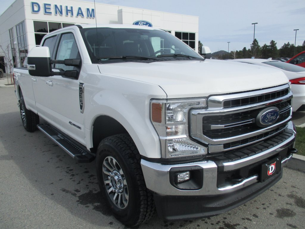 2020 Ford Super Duty F-350 SRW Lariat Crewcab 4x4 w/ Lariat Ultimate Package - Diesel! (DT20143) Main Image