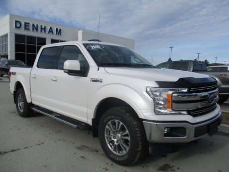 2018 Ford F-150 Lariat SuperCrew 4X4 w/ Navigation and Heated/Cooled Seats!