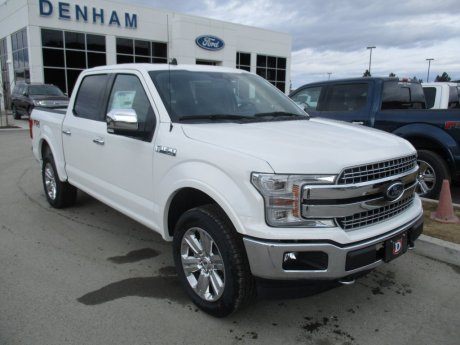2020 Ford F-150 Lariat Supercrew 4x4 w/ Lariat Chrome Package!