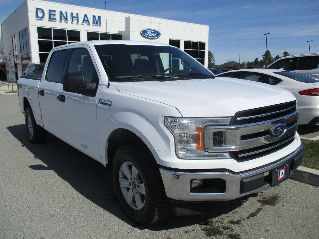 2018 Ford F-150 XLT SuperCrew 4X4 w/ Pro Trailer Backup Assist! (300A) (P2590) Main Image