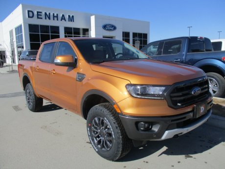 2020 Ford Ranger Lariat Crewcab 4x4 w/ Sport Appearance Package