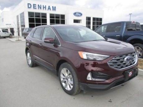 2020 Ford Edge Titanium AWD w/ 301A Package!