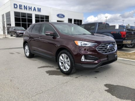 2020 Ford Edge Titanium AWD w/ Canadian Touring Package!