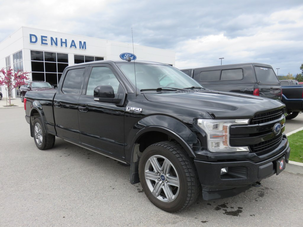 2018 Ford F-150 Lariat Supercrew 4x4 w/ Sport Package - Ecoboost! (T9667A) Main Image