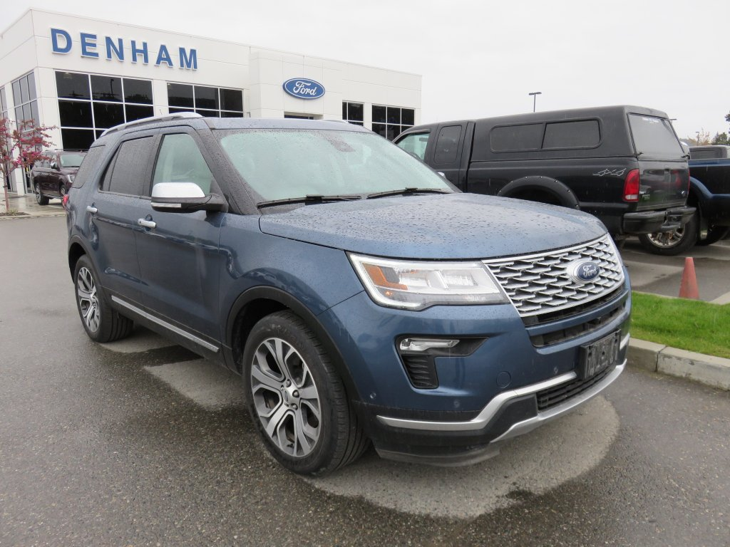 2018 Ford Explorer Platinum AWD w/ Safe & Smart Package! (P2600) Main Image
