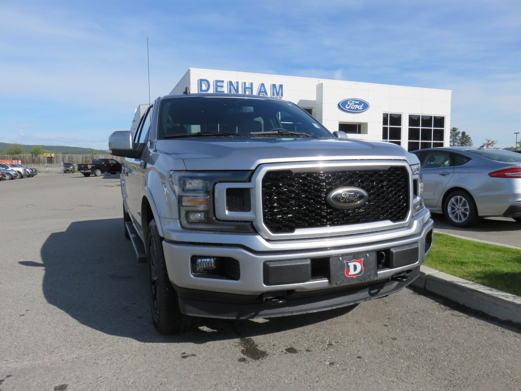 2020 Ford F-150 Lariat Supercrew 4x4 w/ Lariat Black Appearance Package! (DT20289) Main Image