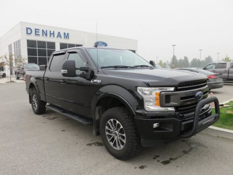 2018 Ford F-150 XLT Supercrew 4x4 w/ Sport Package & Sunroof!
