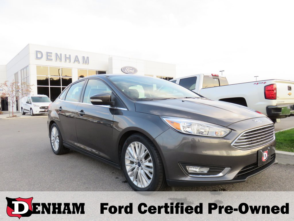 2015 Ford Focus Titanium Sedan w/ Winter Package! (T20413A) Main Image