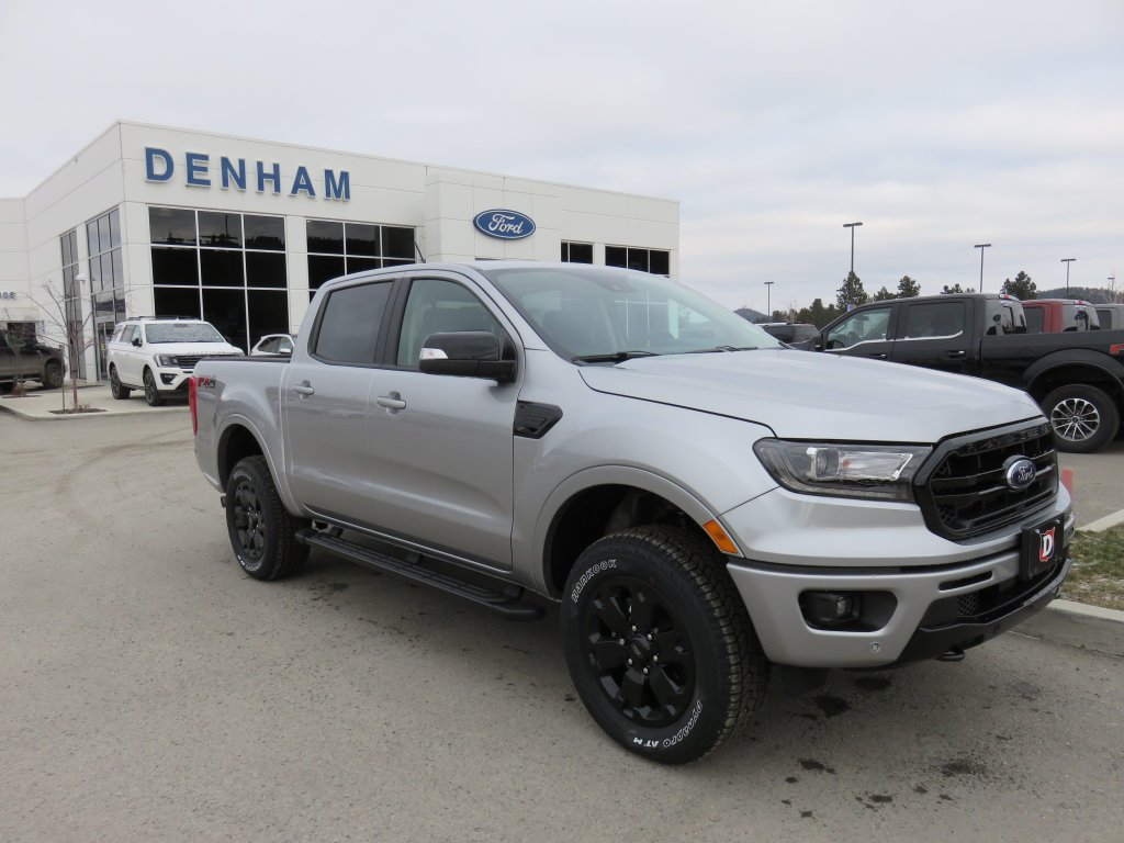2020 Ford Ranger Lariat Crewcab 4x4 w/ Black Appearance Package! (DT20489) Main Image