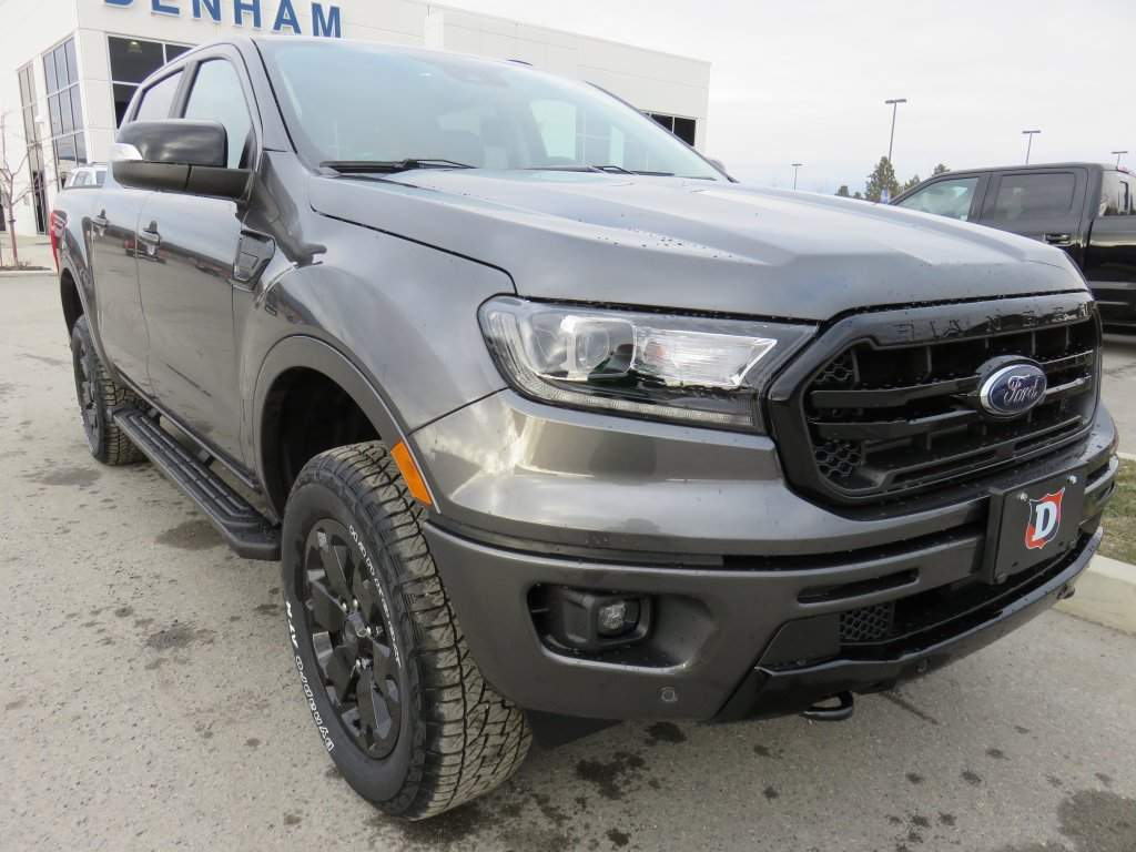 2020 Ford Ranger Lariat Crewcab 4x4 w/ Black Appearance Package! (DT20492) Main Image