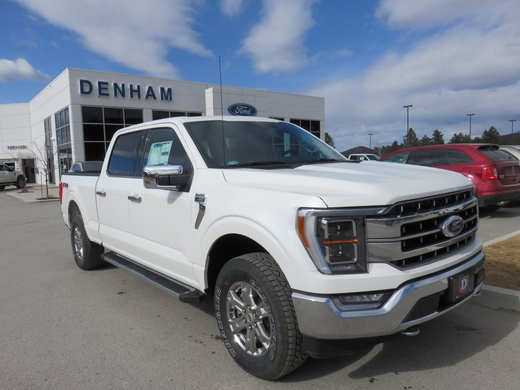 2021 Ford F-150 Lariat Supercrew 4x4 w/ Chrome Package - 5.0L! (DT21044) Main Image