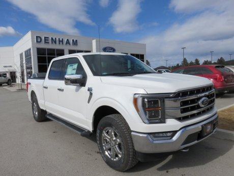 2021 Ford F-150 Lariat Supercrew 4x4 w/ Chrome Package - 5.0L!