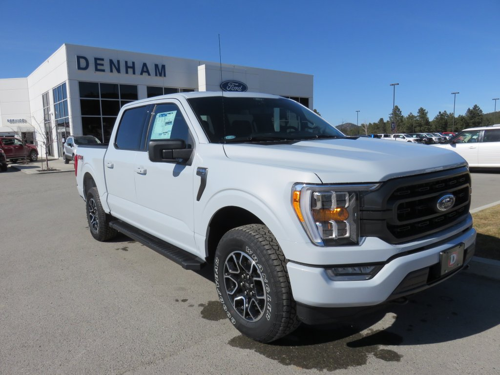 2021 Ford F-150 XLT Supercrew 4x4 w/ Sport Package - 2.7L Ecoboost! (DT21081) Main Image