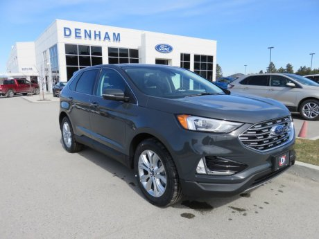 2021 Ford Edge Titanium AWD w/ Canadian Touring Package!